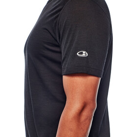Icebreaker M's Zeal SS Crewe Shirt black